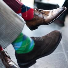 Какие материалы используют в составе носков